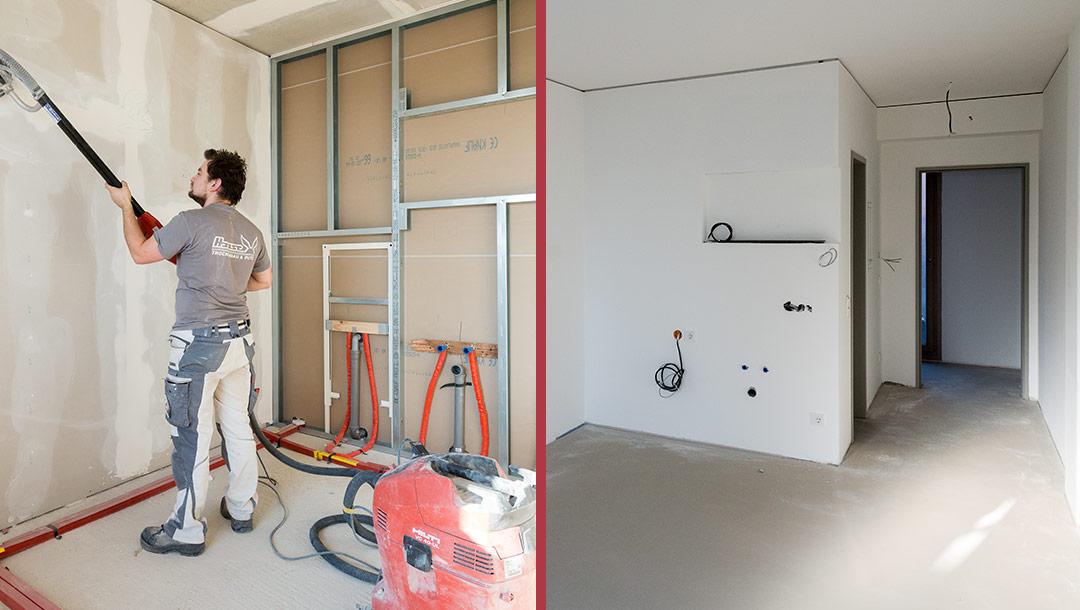 Trockenbau, Referenz der Haase Trockenbau GmbH & Co KG